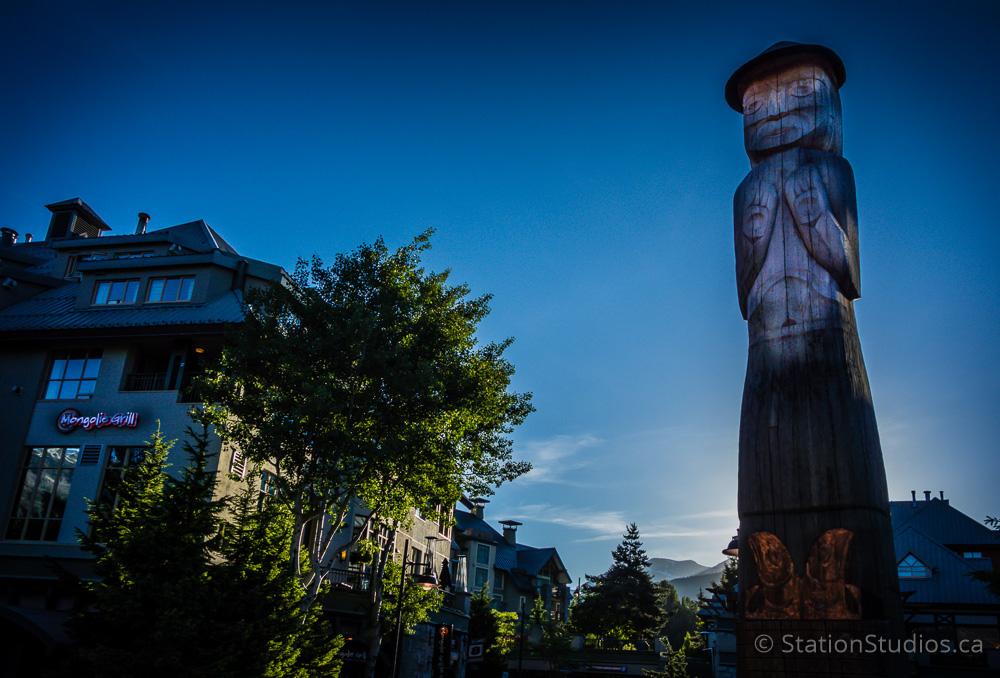 Sunrise in Whistler Village