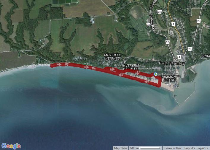 Hike: Port Stanley Beach