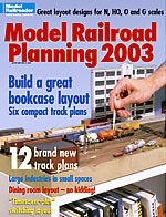 Front Cover of Model Railroading Planning 2003
