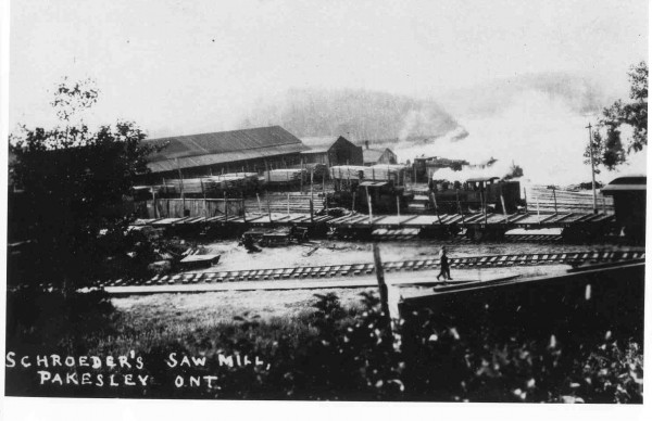 The Sawmill at Lost Channel served by the Key Valley Railway